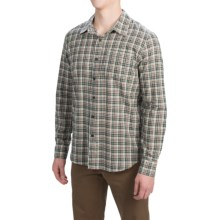 Gramicci Madras Shirt - Long Sleeve (For Men) in Cloudy Grey - Closeouts