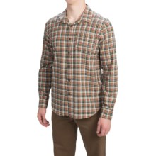 Gramicci Madras Shirt - Long Sleeve (For Men) in Dusty Olive - Closeouts