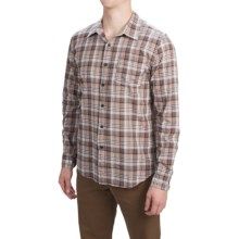 Gramicci Madras Shirt - Long Sleeve (For Men) in Hawk - Closeouts