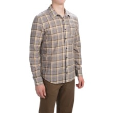Gramicci Madras Shirt - Long Sleeve (For Men) in Owl Brown - Closeouts