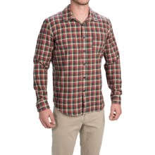 Gramicci Madras Shirt - Long Sleeve (For Men) in Ox Red - Closeouts