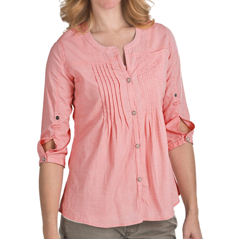 Gramicci Mara Chambray Shirt (For Women) - Save 67%