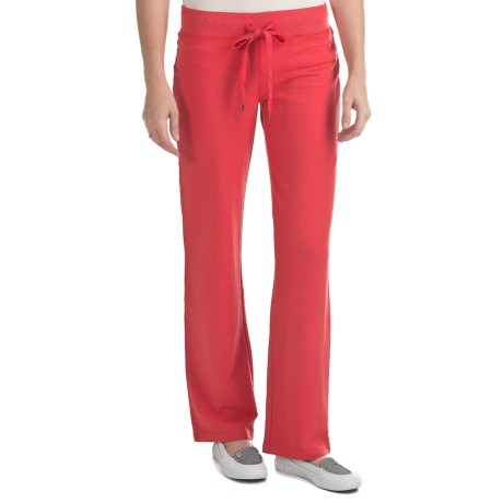 Gramicci Matsuko Pants - UPF 50, French Terry (For Women) in Wild Aster