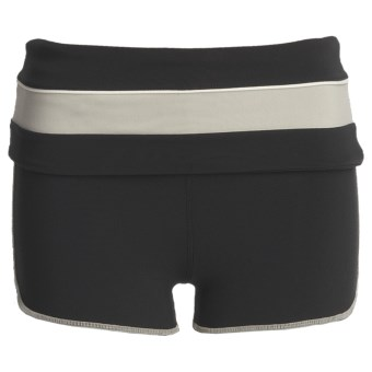 Gramicci Merrion Athletic Shorts - UPF 50 (For Women) in Jet Black