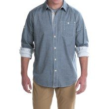 Gramicci Messenger Shirt - Long Sleeve (For Men) in Indigo Blue - Closeouts