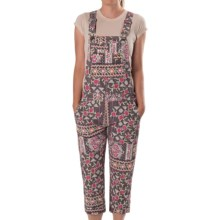Gramicci Mia Capri Overalls (For Women) in Coco Brown - Closeouts