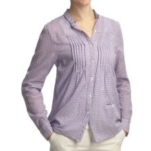 Gramicci Mica Chiara Plaid Shirt - Long Sleeve (For Women) in Raspberry Rose - Closeouts