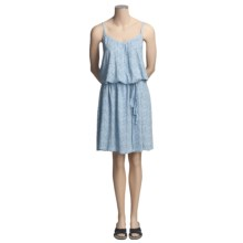 Gramicci Minoru Raine Vine Print Dress - Spaghetti Strap (For Women) in Minocqua Blue - Closeouts