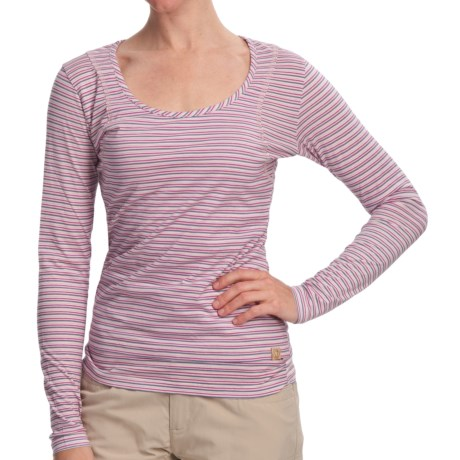 Gramicci Moon Naira Jersey Shirt - Long Sleeve (For Women) in Keepsake Lilac