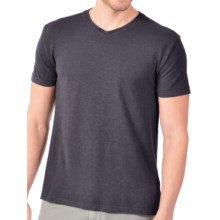 Gramicci Morrison V-Neck T-Shirt - UPF 20, Hemp-Organic Cotton, Short Sleeve (For Men) in Carbon Grey - Closeouts