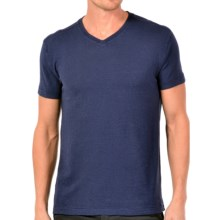 Gramicci Morrison V-Neck T-Shirt - UPF 20, Hemp-Organic Cotton, Short Sleeve (For Men) in Indigo Blue - Closeouts