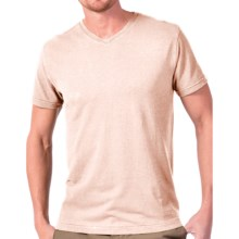 Gramicci Morrison V-Neck T-Shirt - UPF 20, Hemp-Organic Cotton, Short Sleeve (For Men) in Lime Stone - Closeouts