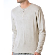 Gramicci Mt. Morrison Henley Shirt - Long Sleeve (For Men) in Heather White - Closeouts
