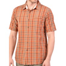 Gramicci Myles Shirt - Short Sleeve (For Men) in Rusty Red - Closeouts