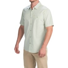 Gramicci Myles Shirt - Short Sleeve (For Men) in Skyline Blue - Closeouts