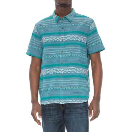 Gramicci Nice Vibes Shirt - Organic Cotton, Short Sleeve (For Men) in Aquamarine - Closeouts