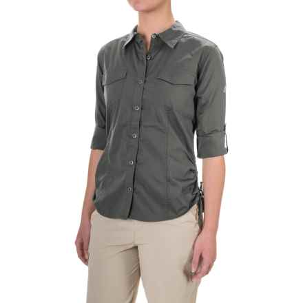 Gramicci No-Squito Shirt - Long Sleeve (For Women) in Asphalt Grey - Closeouts