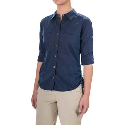 Gramicci No-Squito Shirt - Long Sleeve (For Women) in Indigo Ink - Closeouts