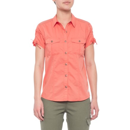c5b3e15acf17fe Gramicci No-Squito Shirt - Short Sleeve (For Women) in Guava - Closeouts
