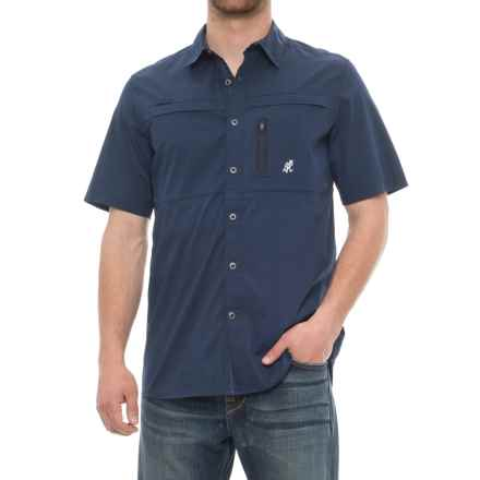 Gramicci No-Squito Shirt - UPF 40+, Short Sleeve (For Men) in Pacific Navy - Closeouts