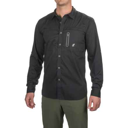 Gramicci NO-Squito Shirt - UPF 40, Roll-Up Long Sleeve (For Men) in Black - Closeouts