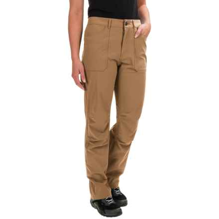 Gramicci Octavia Stretch-Nylon Pants (For Women) in Beach Khaki - Closeouts
