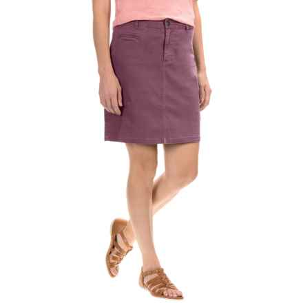 Gramicci Ojai Cargo Skirt (For Women) in Grape Nectar - Closeouts