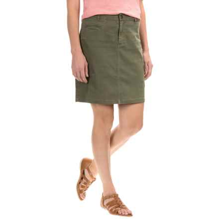 Gramicci Ojai Cargo Skirt (For Women) in Olive - Closeouts
