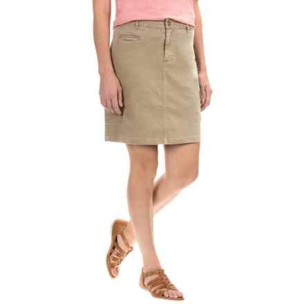Gramicci Ojai Cargo Skirt (For Women) in Sand - Closeouts