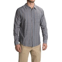 Gramicci Ombre Riverbend Shirt - Long Sleeve (For Men) in Flannel Grey - Closeouts