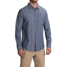 Gramicci Ombre Riverbend Shirt - Long Sleeve (For Men) in Indigo Blue - Closeouts