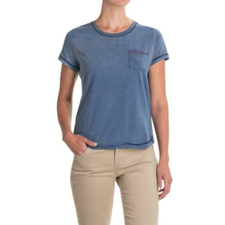 Gramicci On the Go Indigo T-Shirt - Short Sleeve (For Women) in Vintage - Closeouts