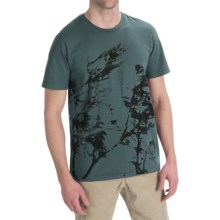 Gramicci Organic Blown Tree T-Shirt - Organic Cotton, Short Sleeve (For Men) in Olive Night - Closeouts