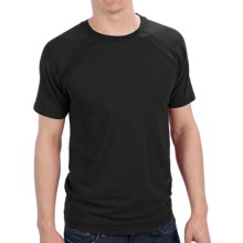 Gramicci Organic McKay Shirt - High-Performance Crew, Short Sleeve (For Men) in Black - Closeouts