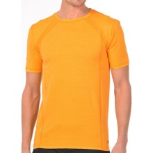 Gramicci Organic McKay Shirt - High-Performance Crew, Short Sleeve (For Men) in Sunset Yellow - Closeouts