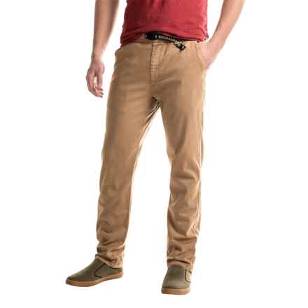 Gramicci Original G 2.0 Pants - Organic Cotton (For Men) in Caramel Tan - Closeouts