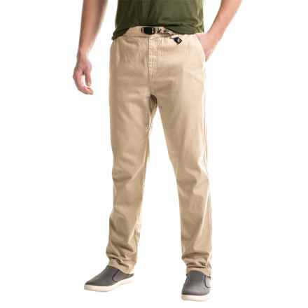Gramicci Original G 2.0 Pants - Organic Cotton (For Men) in True Khaki - Closeouts