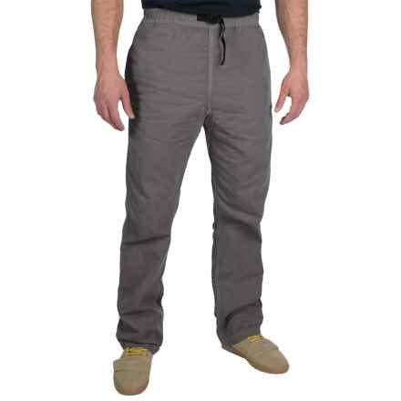Gramicci Original G Dourada Pants - Cotton Twill, Straight Leg (For Men) in Asphalt Grey - Closeouts