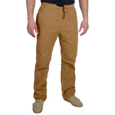 Gramicci Original G Dourada Pants - Cotton Twill, Straight Leg (For Men) in Caramel Tan - Closeouts