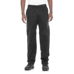Gramicci Original G Dourada Pants - Cotton Twill, Straight Leg (For Men) in Ebony