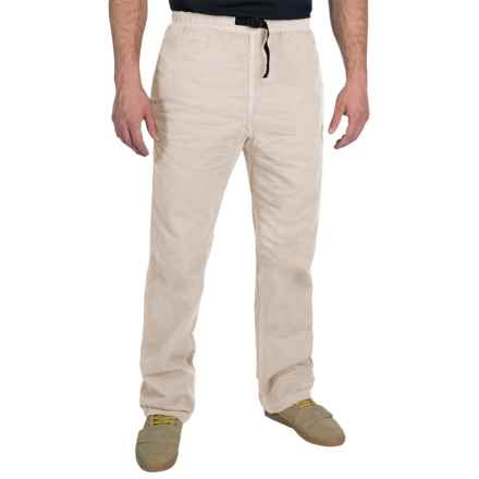 Gramicci Original G Dourada Pants - Cotton Twill, Straight Leg (For Men) in Moonstone - Closeouts