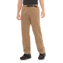 Gramicci Original G Dourada Pants - Cotton Twill, Straight Leg (For Men) in Mushroom
