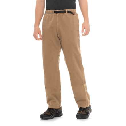 Gramicci Original G Dourada Pants - Cotton Twill, Straight Leg (For Men) in Mushroom - Closeouts