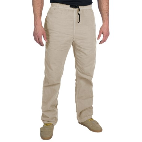 Gramicci Original G Dourada Pants - Cotton Twill, Straight Leg (For Men) in Old Stone