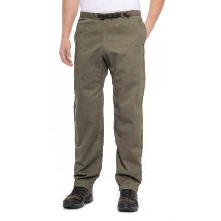 Gramicci Original G Dourada Pants - Cotton Twill, Straight Leg (For Men) in Olive Drab - Closeouts