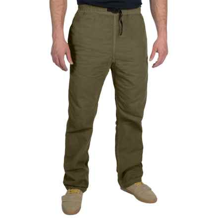 Gramicci Original G Dourada Pants - Cotton Twill, Straight Leg (For Men) in Olive Stone - Closeouts