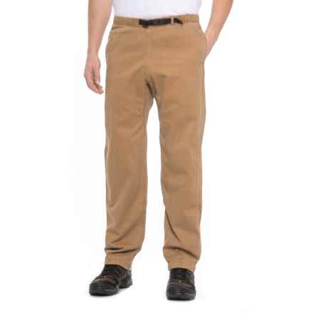 Gramicci Original G Dourada Pants - Cotton Twill, Straight Leg (For Men) in Sienna Brown - Closeouts