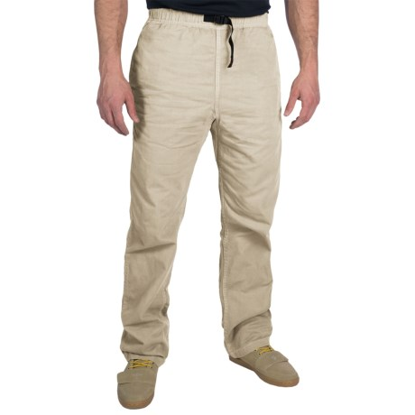 Gramicci Original G Dourada Pants - Cotton Twill, Straight Leg (For Men) in Sandstone