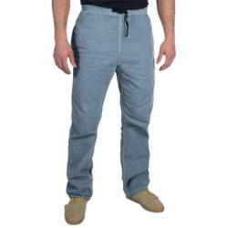 Gramicci Original G Dourada Pants - Cotton Twill, Straight Leg (For Men) in Vintage Indigo