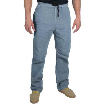 Gramicci Original G Dourada Pants - Cotton Twill, Straight Leg (For Men) in Vintage Indigo - Closeouts